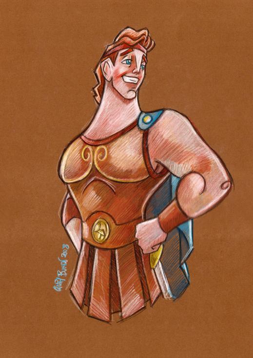 Hercules Cool Fan Art
