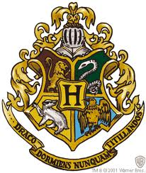 Harry Potter achtergrond entitled Hogwarts... Logo?