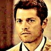 Castiel photo containing a portrait entitled I believe the children are our future