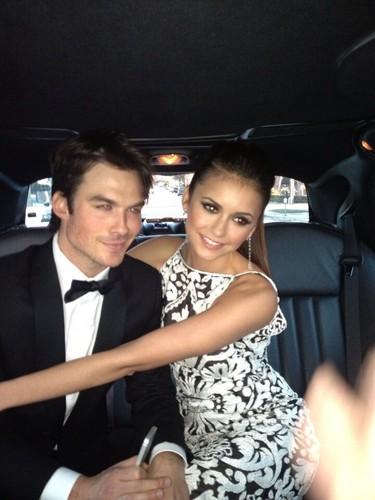 Ian & Nina - Oscars 2013