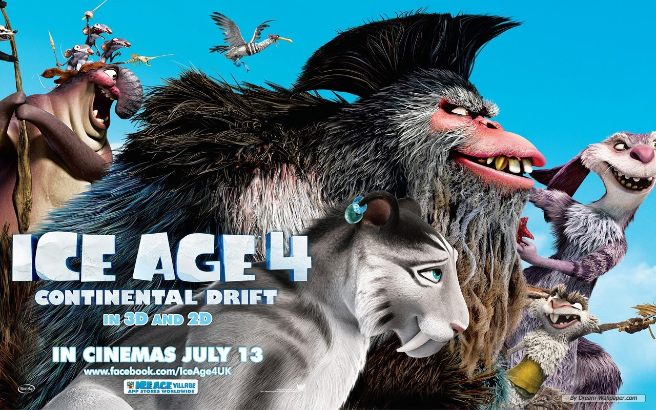 Ice Age 4: Continental Drift images Ice Age 4 HD wallpaper ...