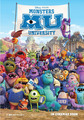 International Poster for Monster University