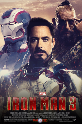Iron Man wallpaper possibly with anime titled Iron Man 3 (Fan Made) Poster