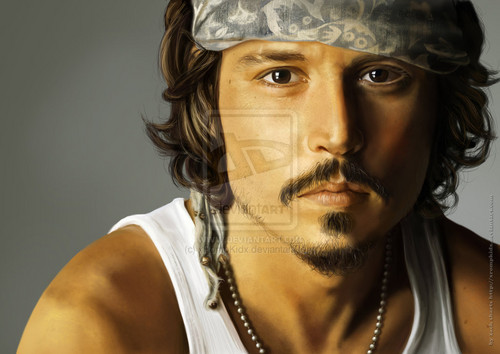 JDepp ~ Digital Art - johnny-depp Fan Art