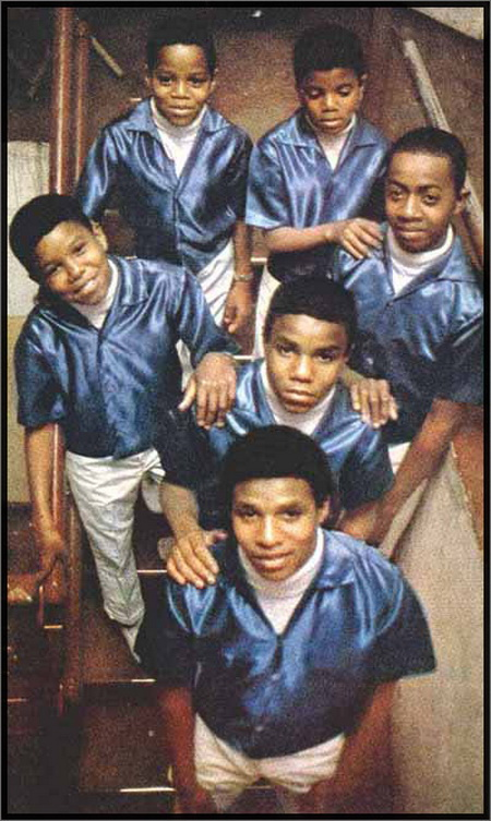 Jackson 5 At The Regal Theatre In Chicago Back In 1968