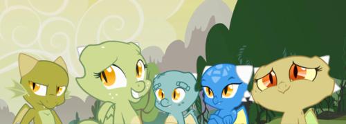 Jade and her siblings