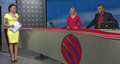 Jagr ex Inna and Lucie: they moderate in the same tv.. - youtube photo