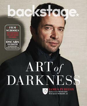 James - Backstage Magazine 2013