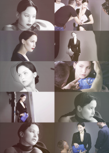 Jennifer Lawrence for Miss Dior Bags: Behind The Scenes