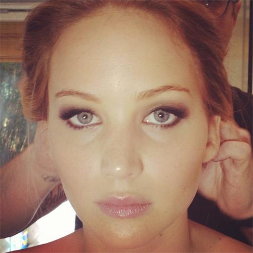 Jennifer before the Oscars