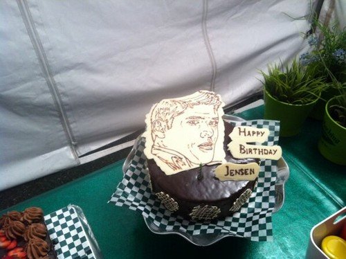 Jensen's Birthday Cake