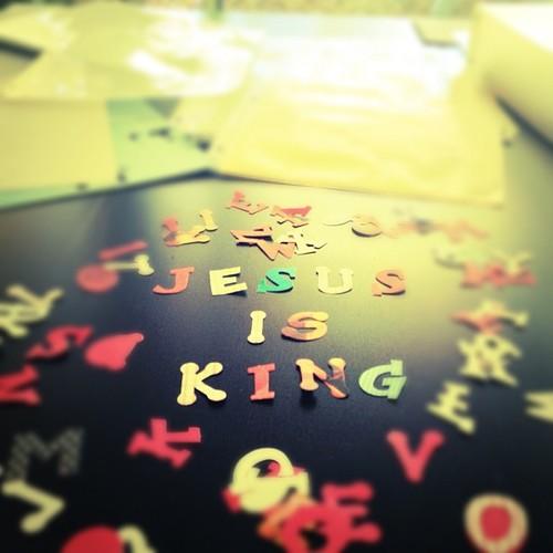 Jesus is King (:
