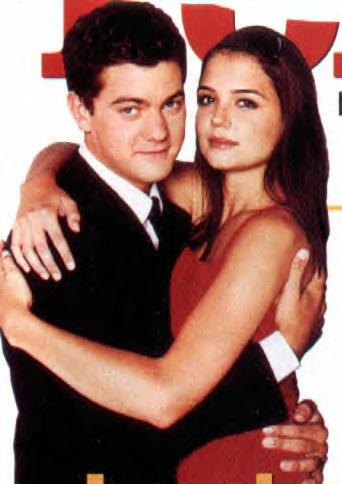 Joshua Jackson & Katie Holmes achtergrond possibly with a portrait entitled Josh & Katie