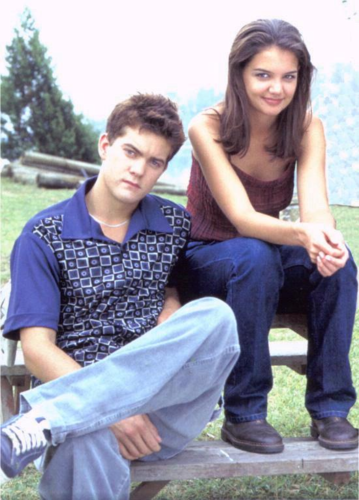 Joshua Jackson & Katie Holmes wallpaper called Josh & Katie