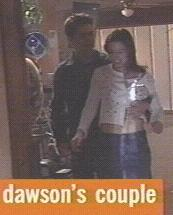 Joshua Jackson & Katie Holmes wolpeyper probably containing a sign entitled Josh & Katie