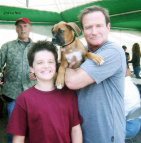 Josh & Robin Williams