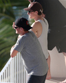 Josh smoking in Hawaii (2/28/2013)