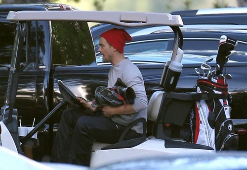 Josh out in Sherman Oaks
