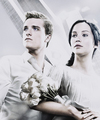 Katniss Everdeen & Peeta Mellark. - katniss-everdeen fan art