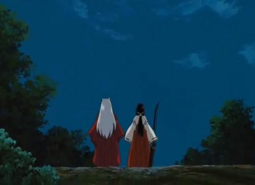 Kikyo and Inuyasha