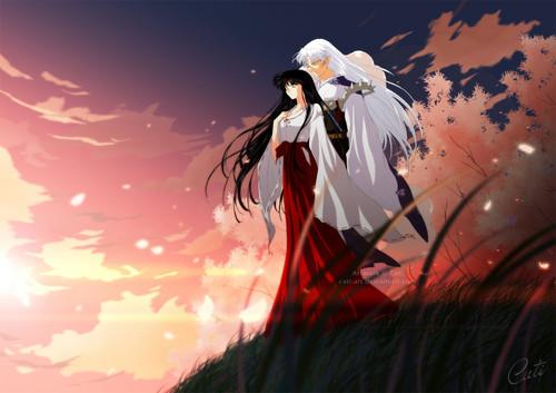 Kikyo and Sesshoumaru