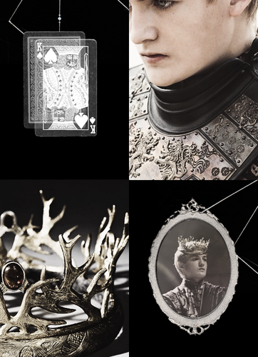 House Lannister wallpaper possibly containing a sign entitled King Joffrey