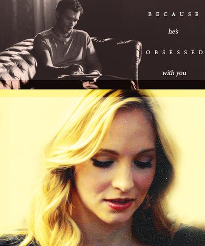 Klaus & Caroline (The Vampire Diaries)