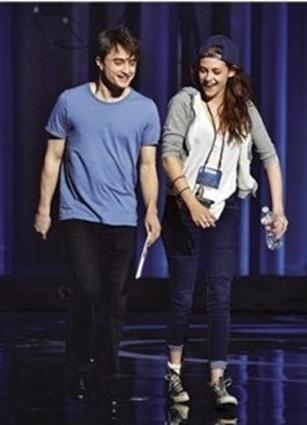 Kristen Stewart & Daniel Radcliffe