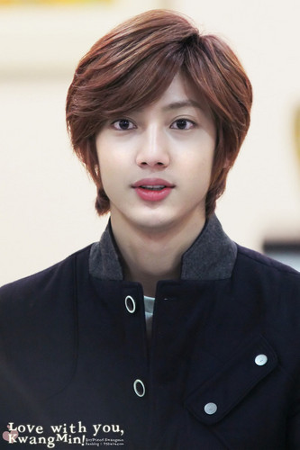 Boyfriend achtergrond probably containing a portrait called Kwangmin
