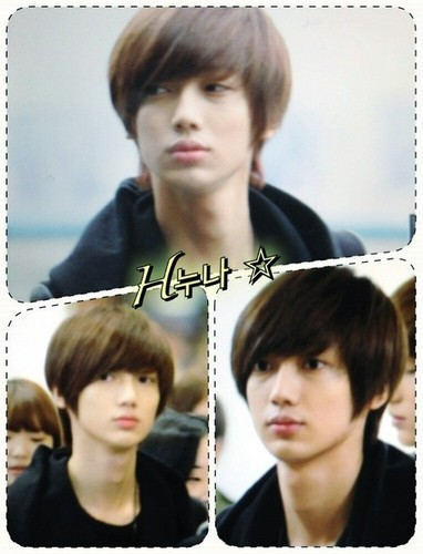 Boyfriend wallpaper containing a portrait titled Kwangmin