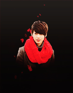 Boyfriend wallpaper probably containing a hood entitled Kwangmin