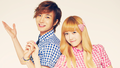 Leeteuk & Jessica - super-junior wallpaper