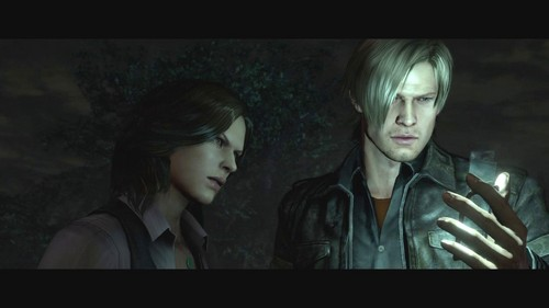 Leon and Helena Resident evil 6