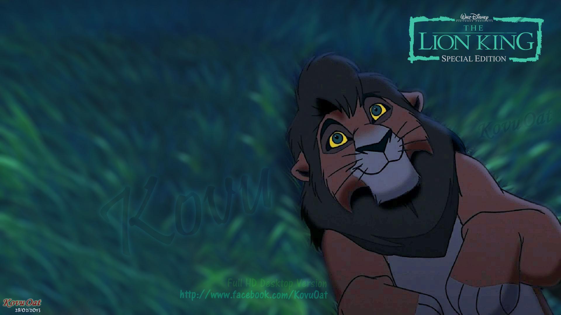 Kovu Oat Images Lion King Kovu Desktop Wallpaper Background Full Hd