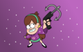 Mabel Grappling Hook Wallpaper - gravity-falls wallpaper