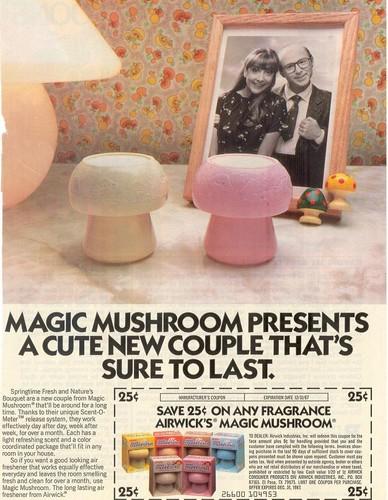 Magic Mushroom air freshener