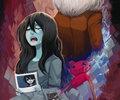 Marceline, hambo and Simon