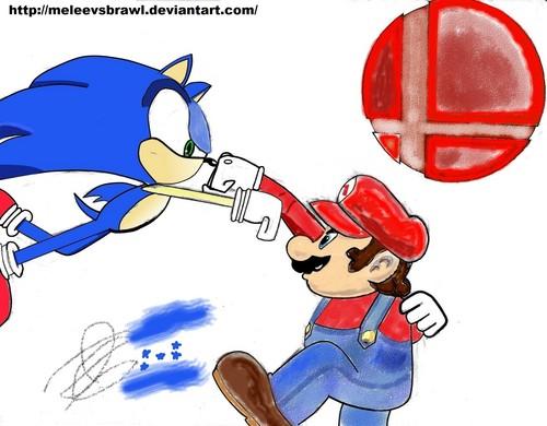 Mario vs Sonic Brawler