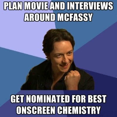 James McAvoy and Michael Fassbender 壁紙 containing アニメ called McFassy Meme's ★