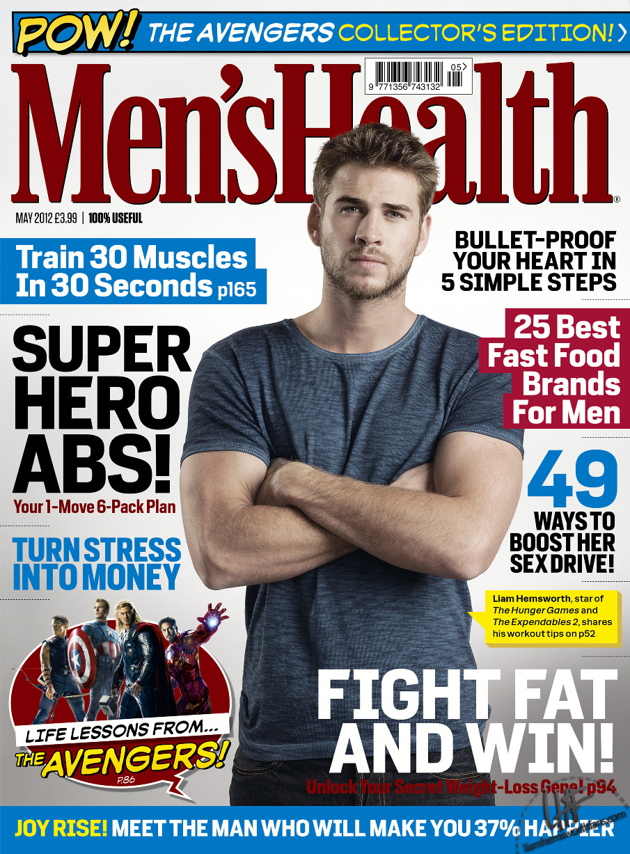 Liam Hemsworth Images Men's Health Magazine (Russia) HD