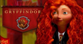 Merida is in Gryffindor - brave fan art