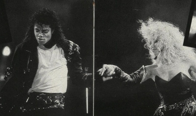 Michael And Backing Vocalist, Sheryl ворона