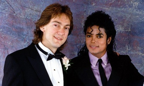 Michael And Former Manager, John Franca On His Wedding Back In 1988