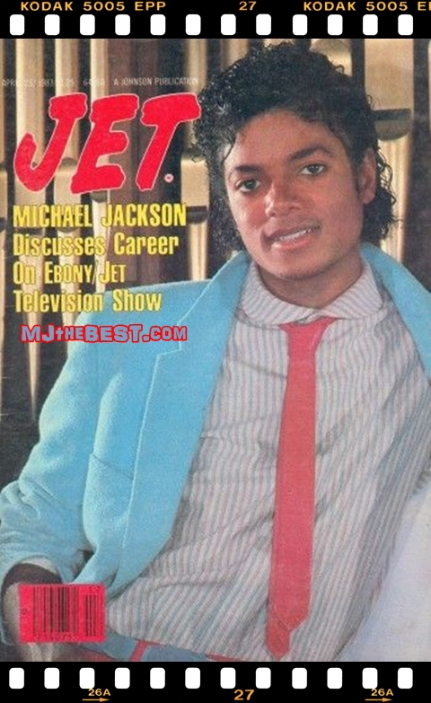 "Michael On The 1983 Issue Of ""JET"" Magazine"