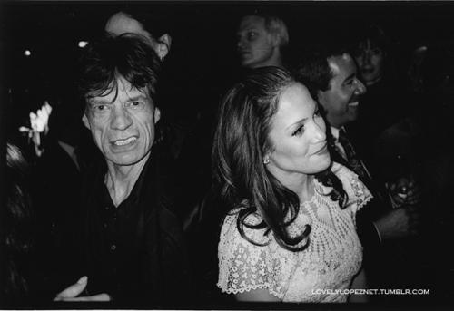 Mick Jagger, Jennifer Lopez
