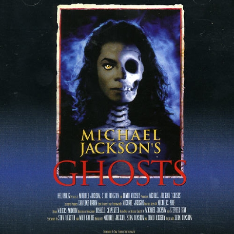 """Movie Poster Promoting The 1996 Short Film, """"GHOSTS"""""""