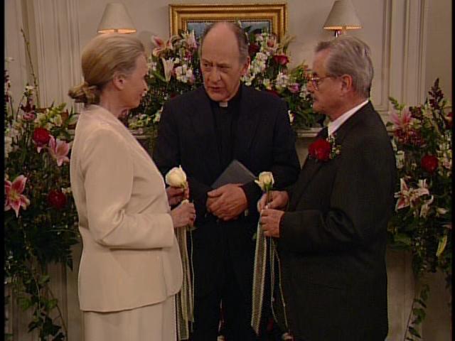 Mr. Feeny's wedding