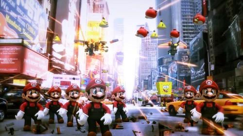 Mr. Mario with Gangnam style dance