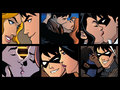 NIghtwings kisses - young-justice fan art