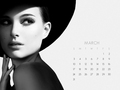 NP.COM Calendar - March - natalie-portman wallpaper